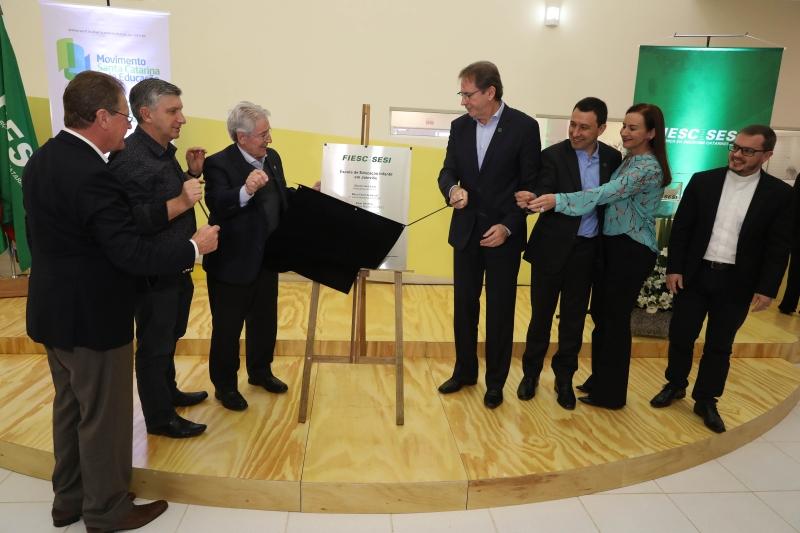 SESI entrega escola de educação infantil em Joinville