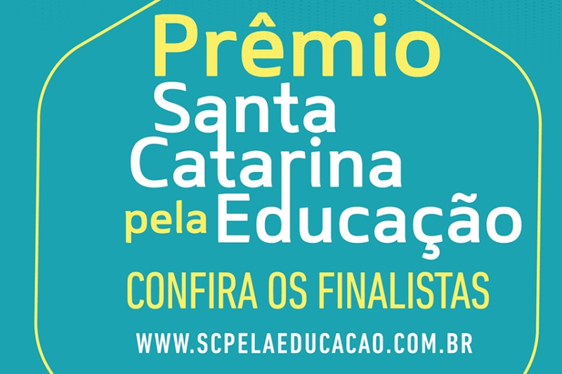 Movimento SC pela Educação anuncia finalistas de prêmio