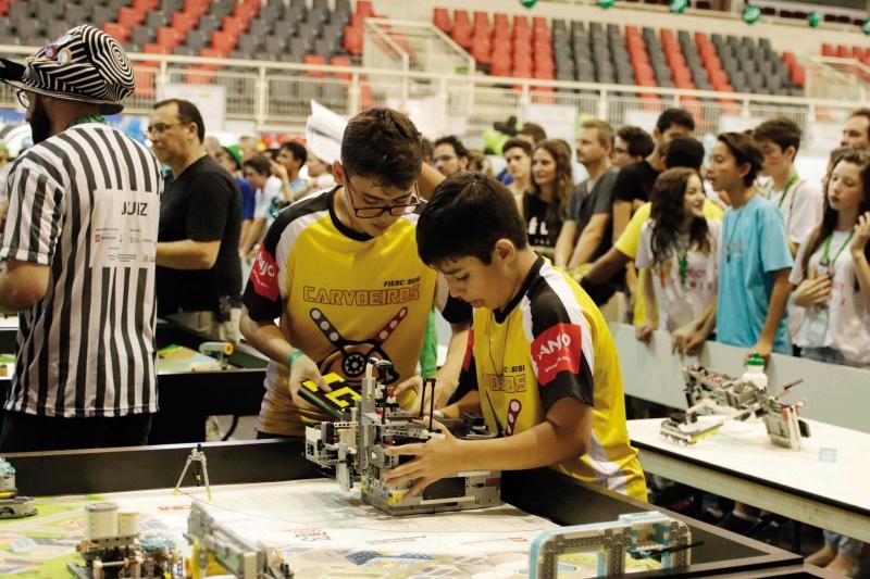 SESI tem inscrições abertas para torneio de robótica