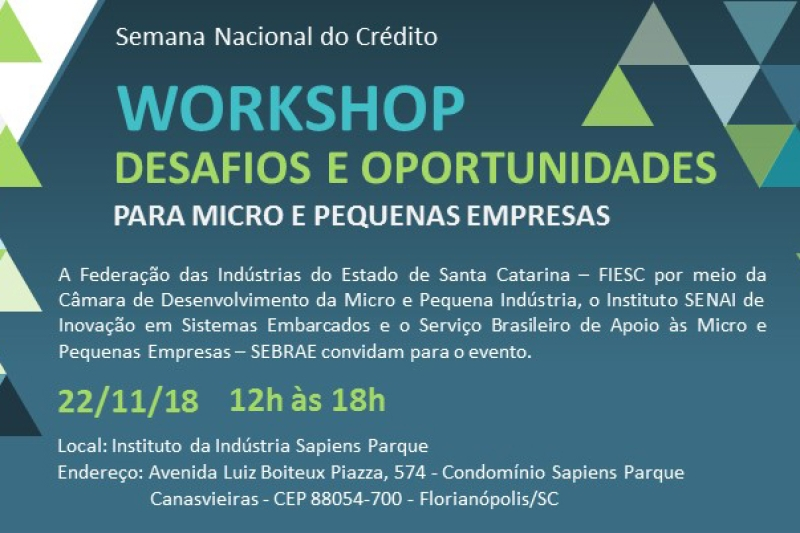 Workshop debate oportunidades para micro e pequenas empresas
