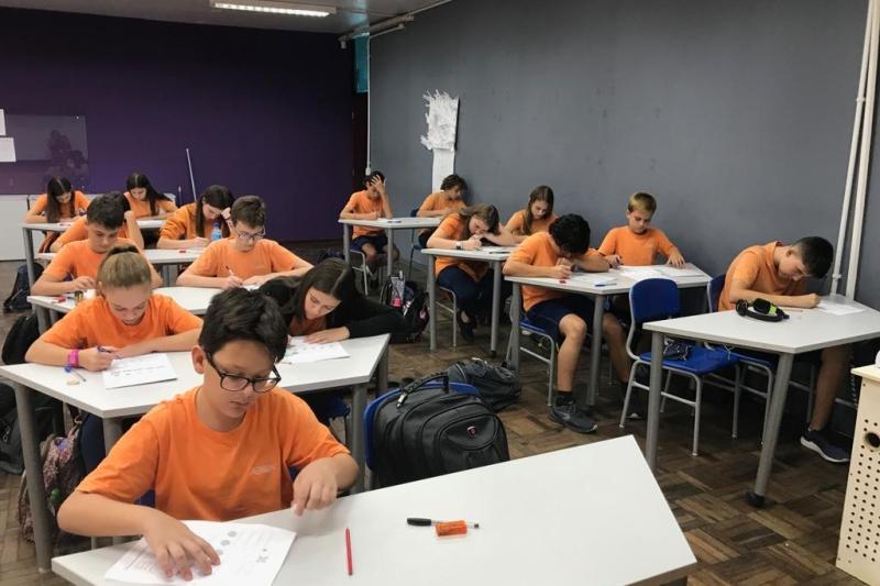 No mês da matemática, estudantes do SESI SENAI avançam em competições na...