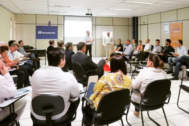 Institutos SENAI e Termotécnica realizam Innovation Day