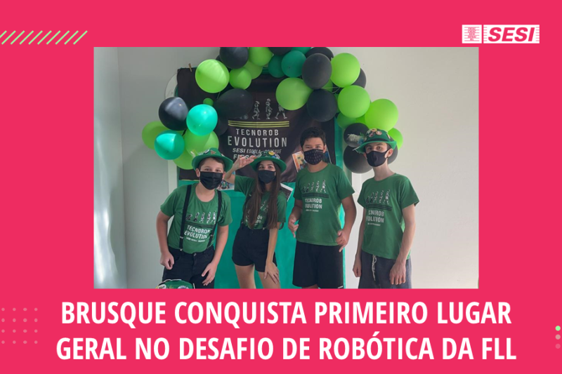 Brusque, Concórdia, Criciúma e Blumenau vão ao Festival SESI de Robótica ...