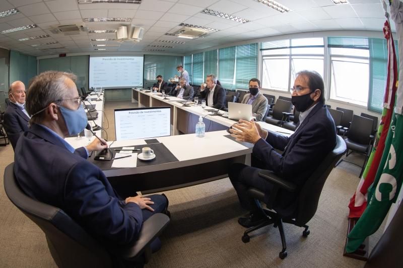 Reunião foi realizada na FIESC, em Florianópolis (foto: Filipe Scotti)