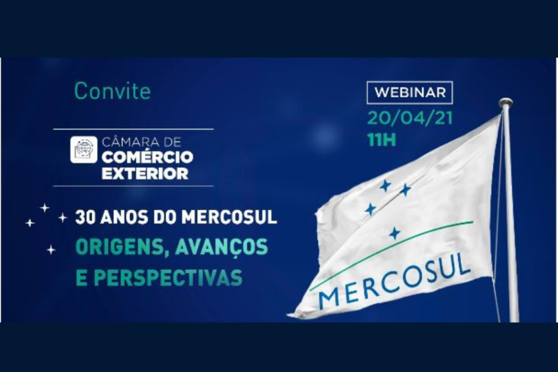 Live aborda os 30 anos do Mercosul